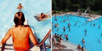 Bild von Kindern im Schwimmbad Foto Thomas Liedke