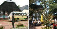 bild vom oldtimerbus und von sebbel foto eddi vom vestischen reisedienst und stadtagentur
