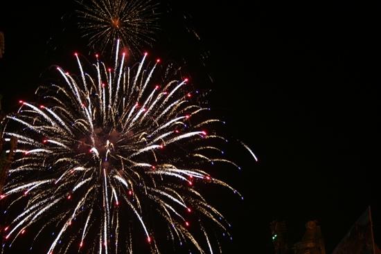 Feuerwerk auf der Palmkirmes