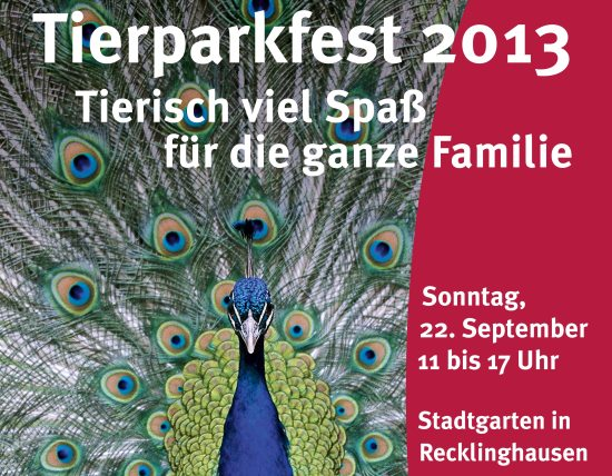 Plakat Tierparkfest 2013