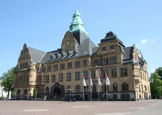 Abbildung des Rathauses