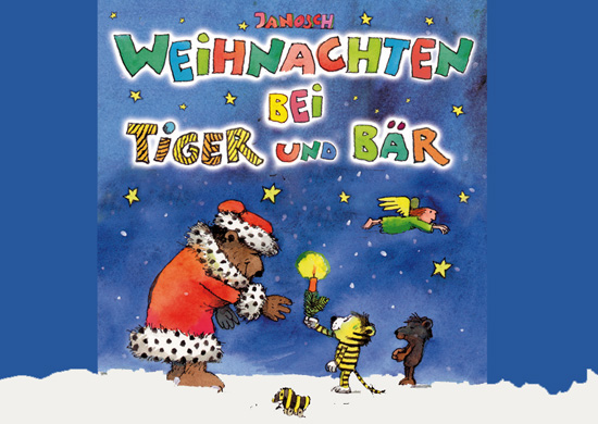 Tititelseite Weihnachten bei Tiger und Bär