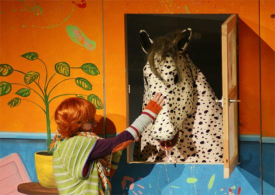 Pippi und ihr Pferd