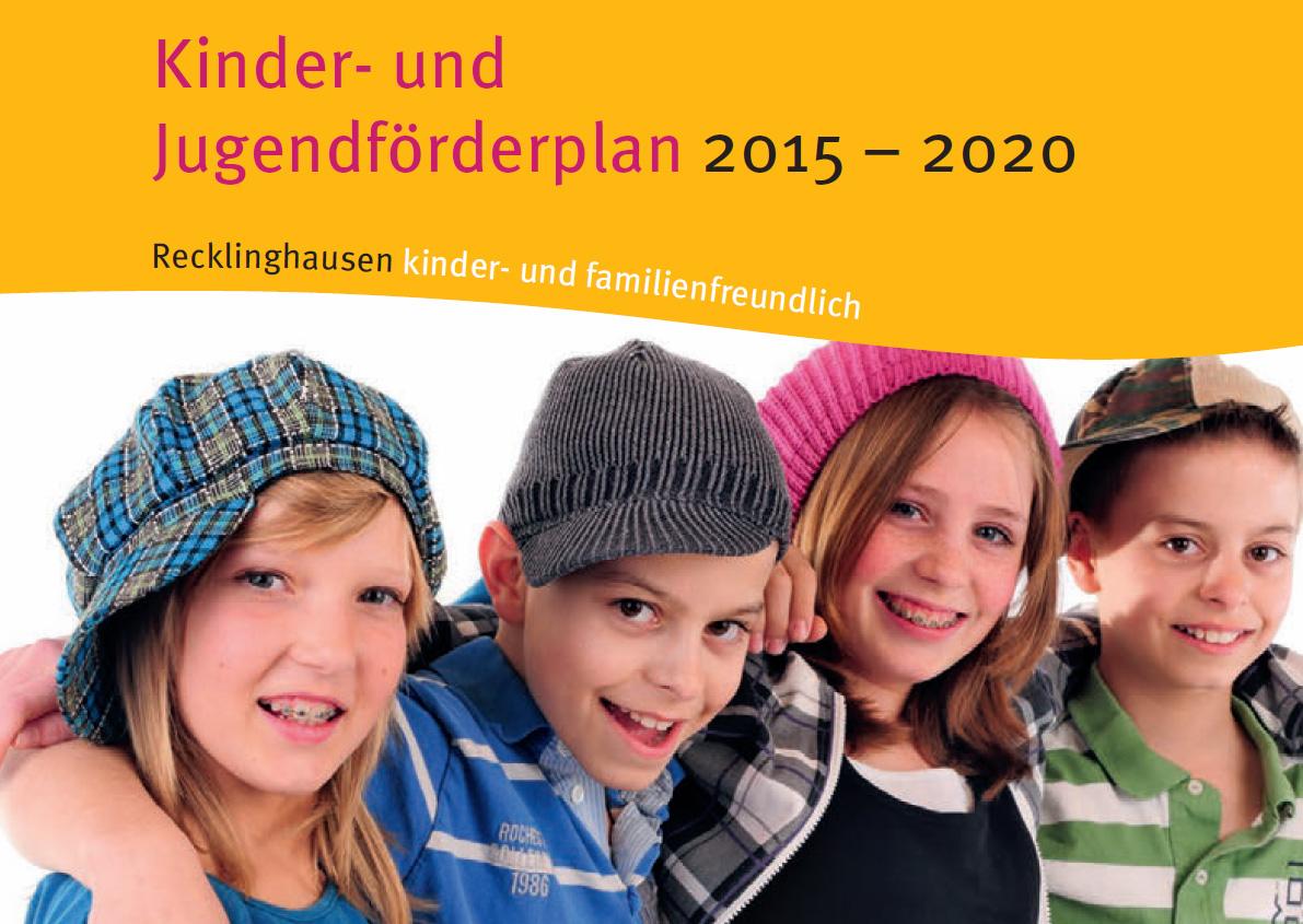 Deckblatt Kinder- und Jugendförderplan