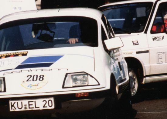 Historisches Elektroauto