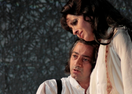 Szene aus LaTraviata
