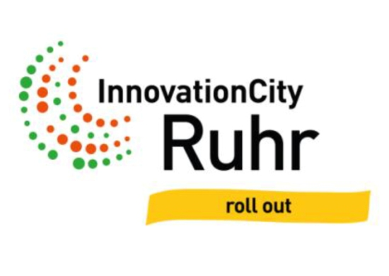 Logo Innovation City Ruhr rollout