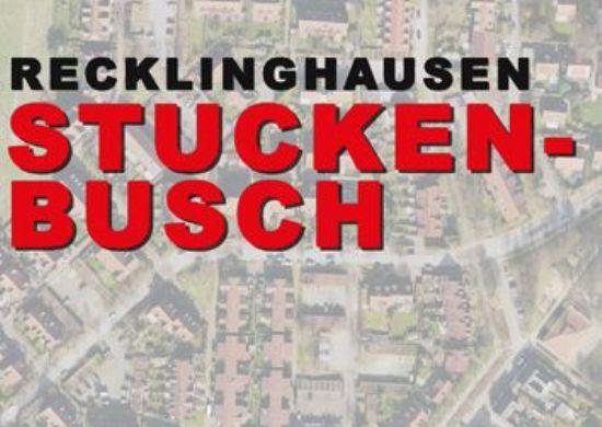 Plakat mit Schriftzug Stuckenbusch