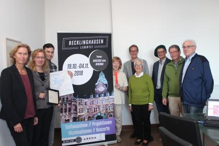 Die Organisatoren, Sponsoren und Mitglieder der Gilde der Stadtführer fiebern der 13. Auflage des Events  RE leuchtet  entgegen.