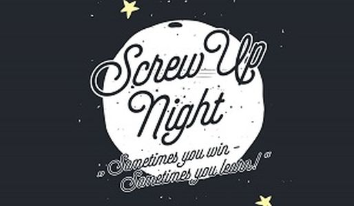 Screw Up Night Logo
