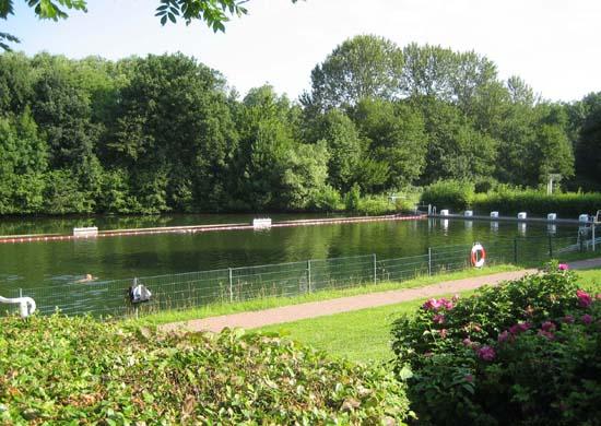 Schwimmerteil Freibad Suderwich