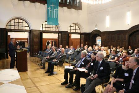 Zwei Tage lang stand beim 4. Riga-Symposium im Großen Sitzungssaal des Rathauses das Gedenken an die Opfer der Nazi-Diktatur im Mittelpunkt