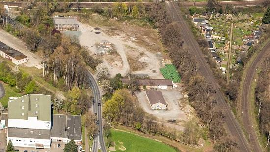 Luftbild Bruchweg Ostseite