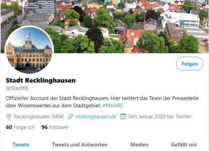 Pressefoto: Mit dem Twitter-Account möchte die Pressestelle der Stadt die UserInnen über Neuigkeiten aus und ums Rathaus informieren.
