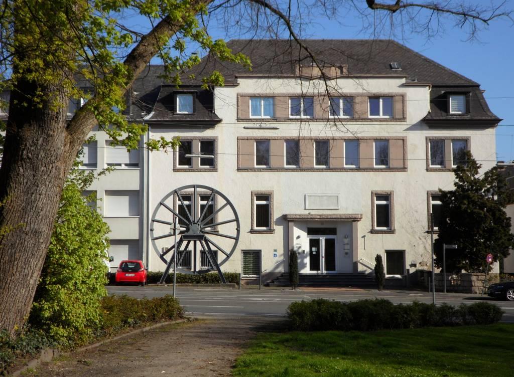 Das Institut für Stadtgeschichte.