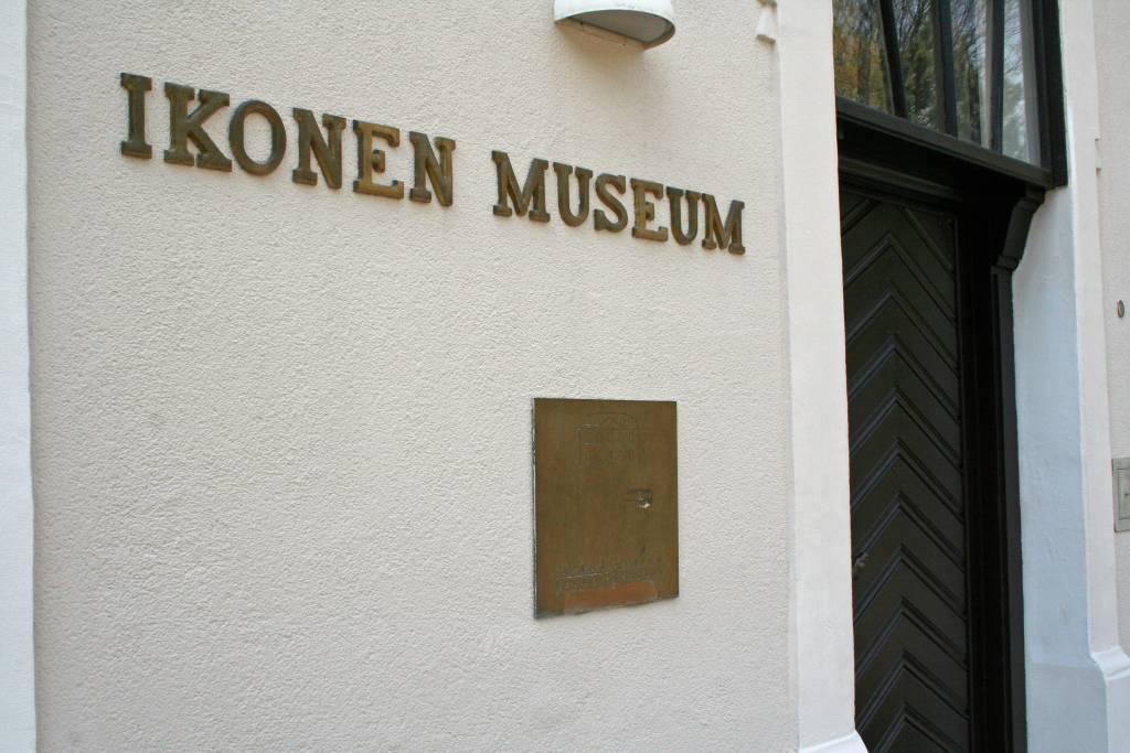 Ikonen-Museum öffnet wieder.