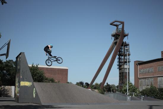 Der Bike- und Skatepark öffnet wieder.