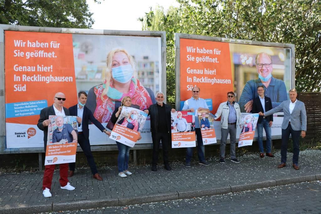 Plakatkampagne in der Südstadt