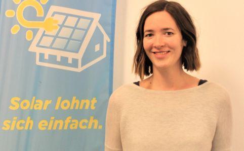 Pressefoto: Klimaschutzmanagerin Lara Wahrmann