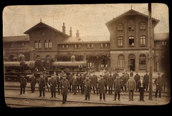 Bahnhof RE 1870