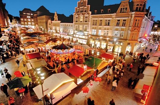 Der Weihnachtsmarkt fällt in diesem Jahr Corona-bedingt aus.