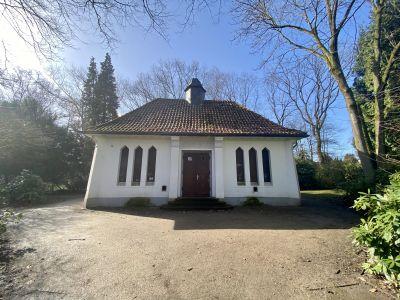Die Grüne Kapelle auf dem Friedhof an der Halterner Straße steht unter Denkmalschutz. Foto: Stadt RE