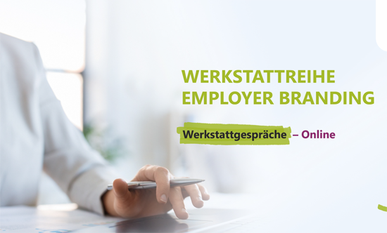 Laptop - Titelbild Flyer Employer Branding