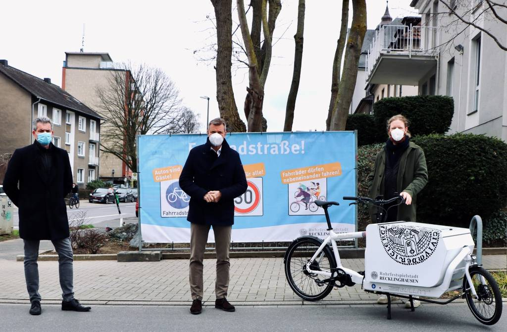 Zehn neue Fahrradstraßen machen Wege mit dem Drahtesel sicherer und attraktiver