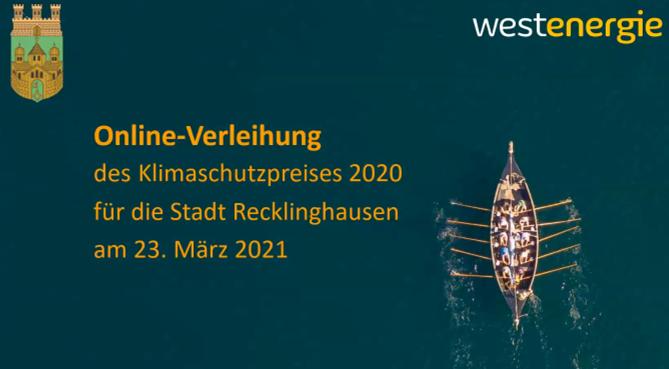 Westenergie-Klimaschutzpreis 2020
