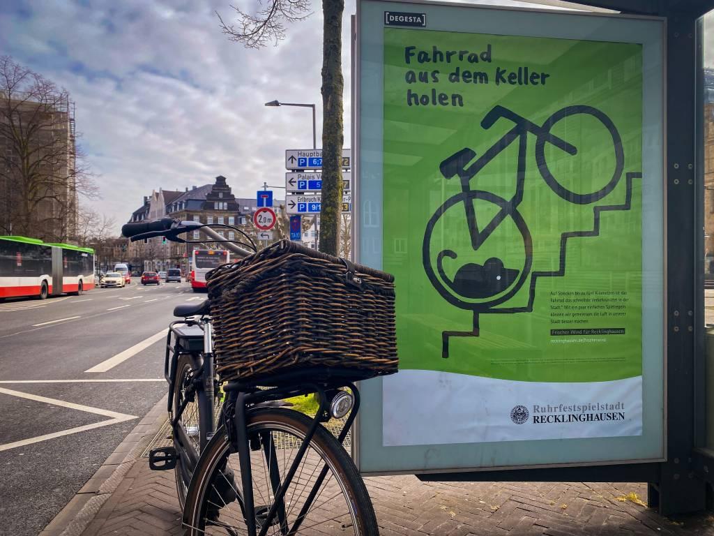 : Im gesamten Stadtgebiet springt sie ab sofort ins Auge: die aktuelle Mobilitätskampagne der Stadt