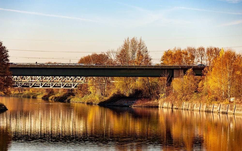 Die A43-Brücke wird für LKW-Verkehr gesperrt. Foto: Autobahn Westfalen