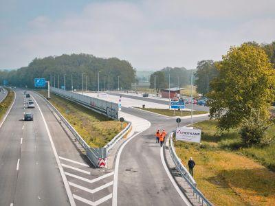 A43 PWC Speckhorn Eröffnung, Quelle Autobahn Westfalen