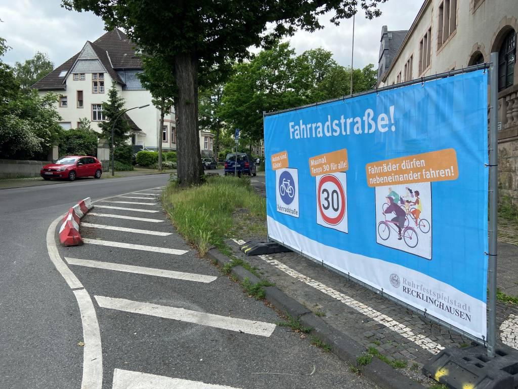 Neue Fahrradstraße in Recklinghausen: Der Elper Weg