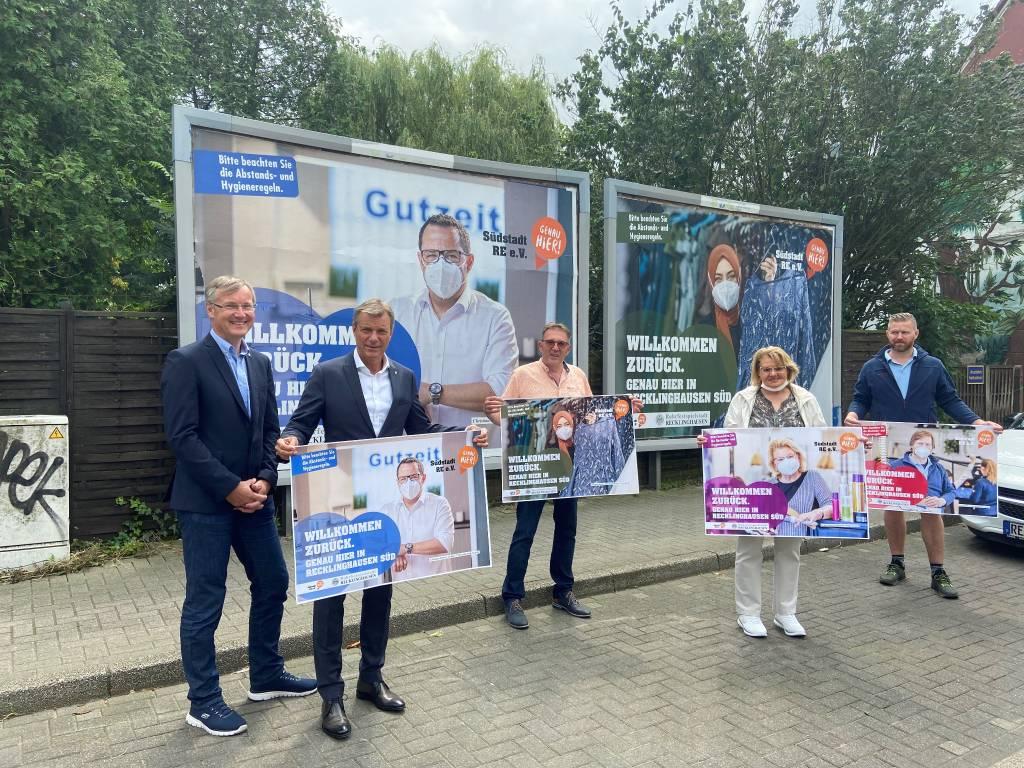 Willkommen zurück: Plakatkampagne geht in der Südstadt an den Start
