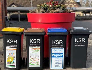 Pressefoto: Abfallbehälter