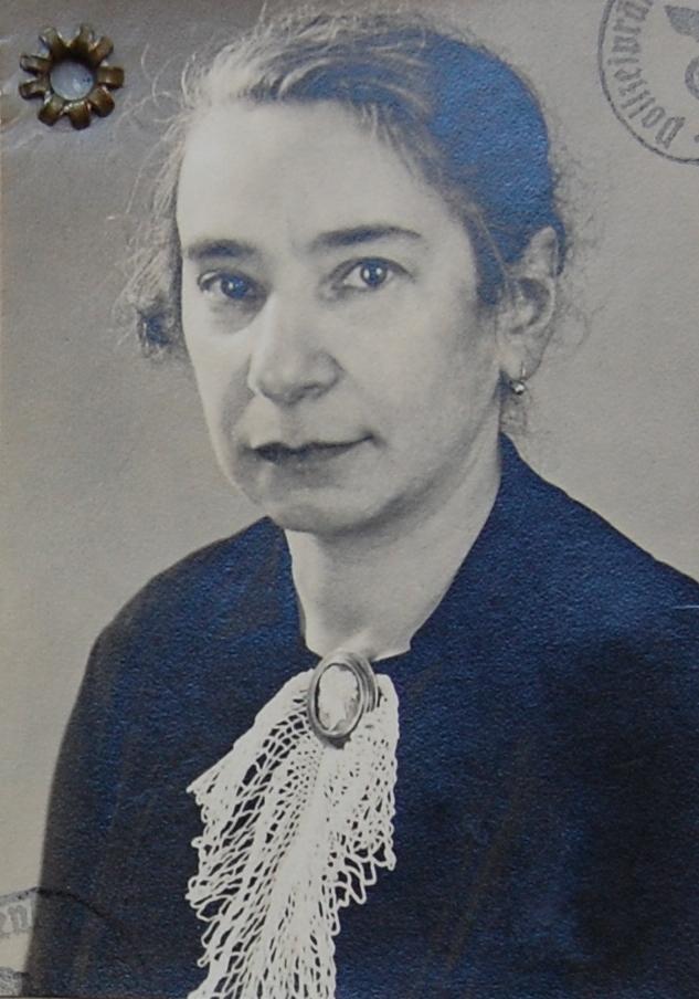 Friederike Friedenberg (Foto: Archiv Georg Möllers)