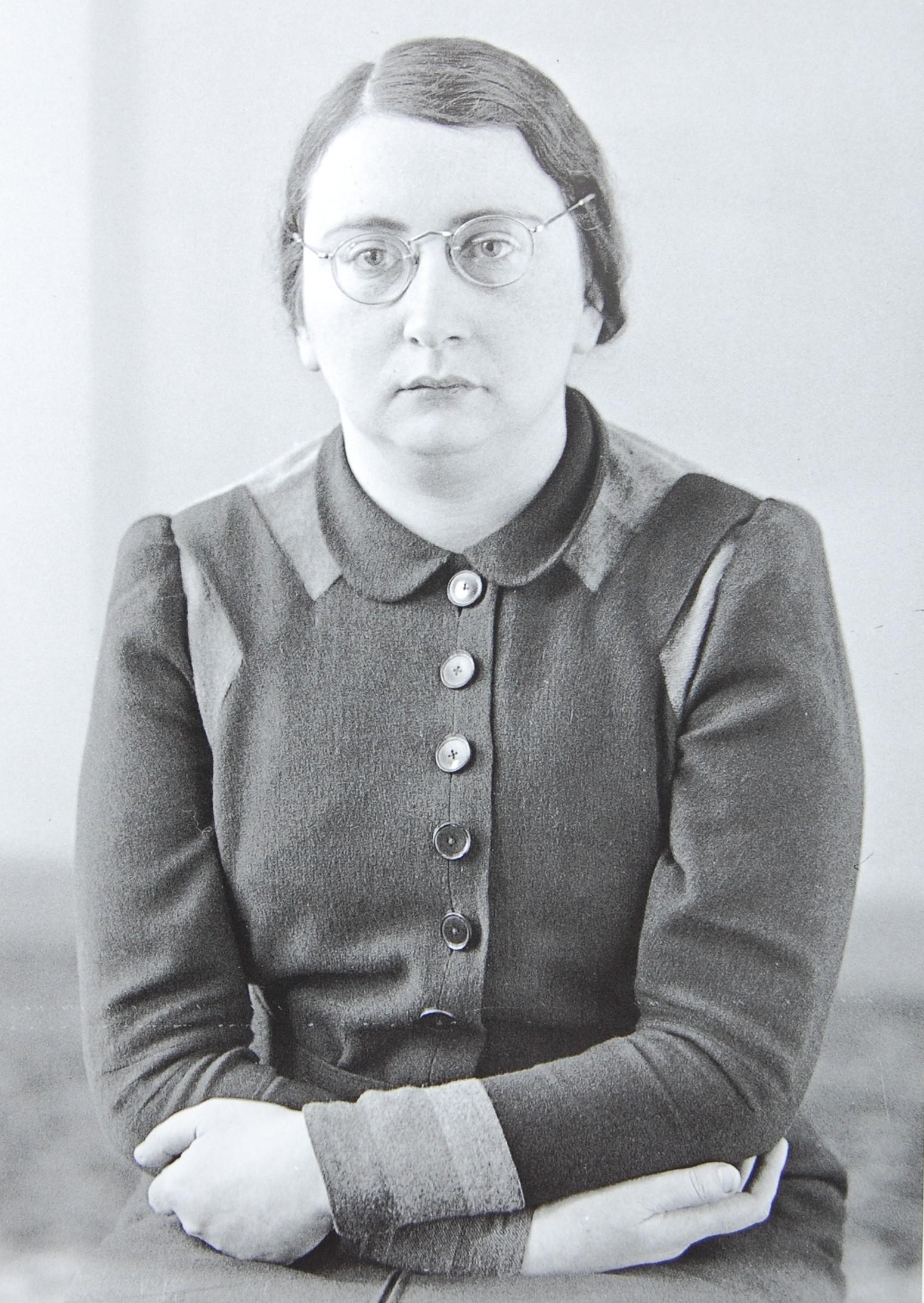 Hildegard Grünberg, geb. Engel, Mitte der 1930er Jahre