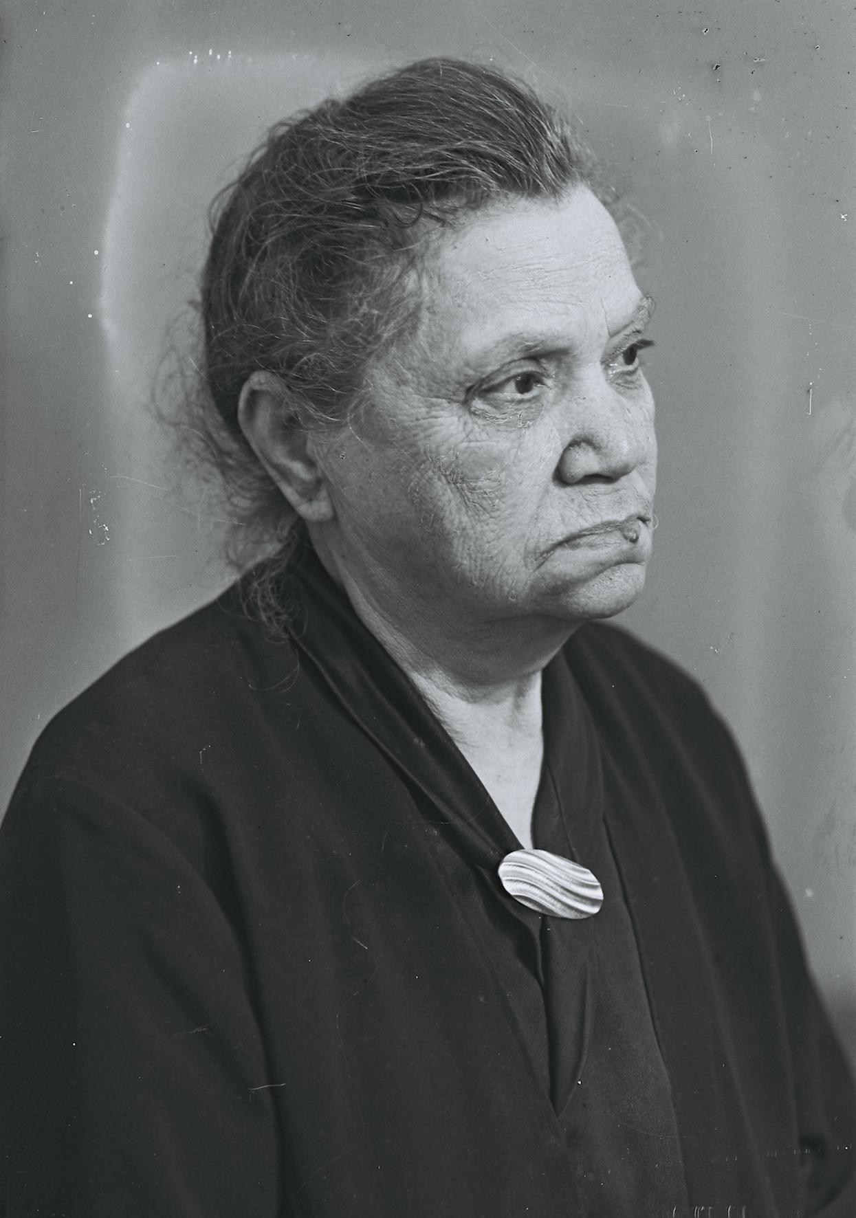Johanna Heumann (Foto: StA RE, Fotostudio Scheideler, KKS-Ausstellung 27.01.2015)