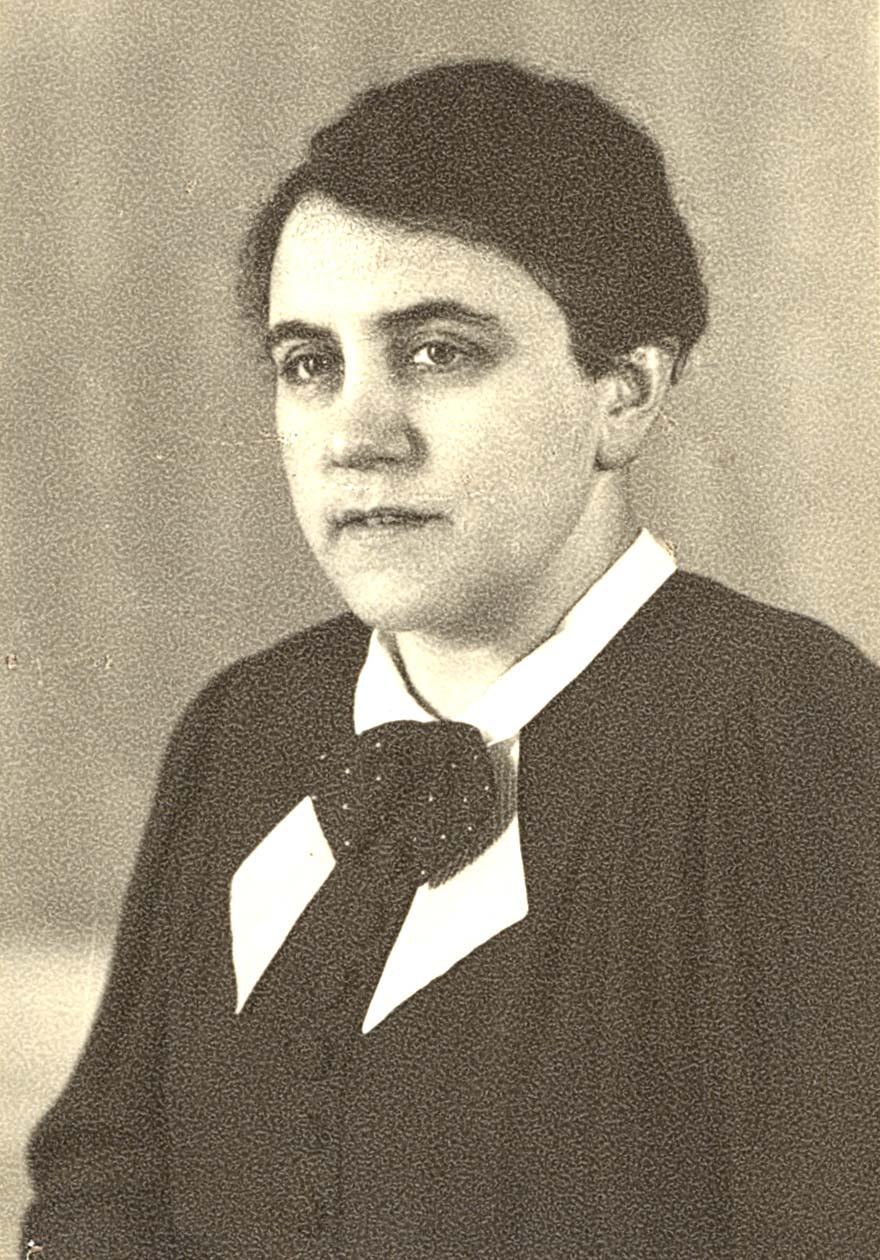 Else Aron, geb. Saalberg (Foto Yad Vashem)