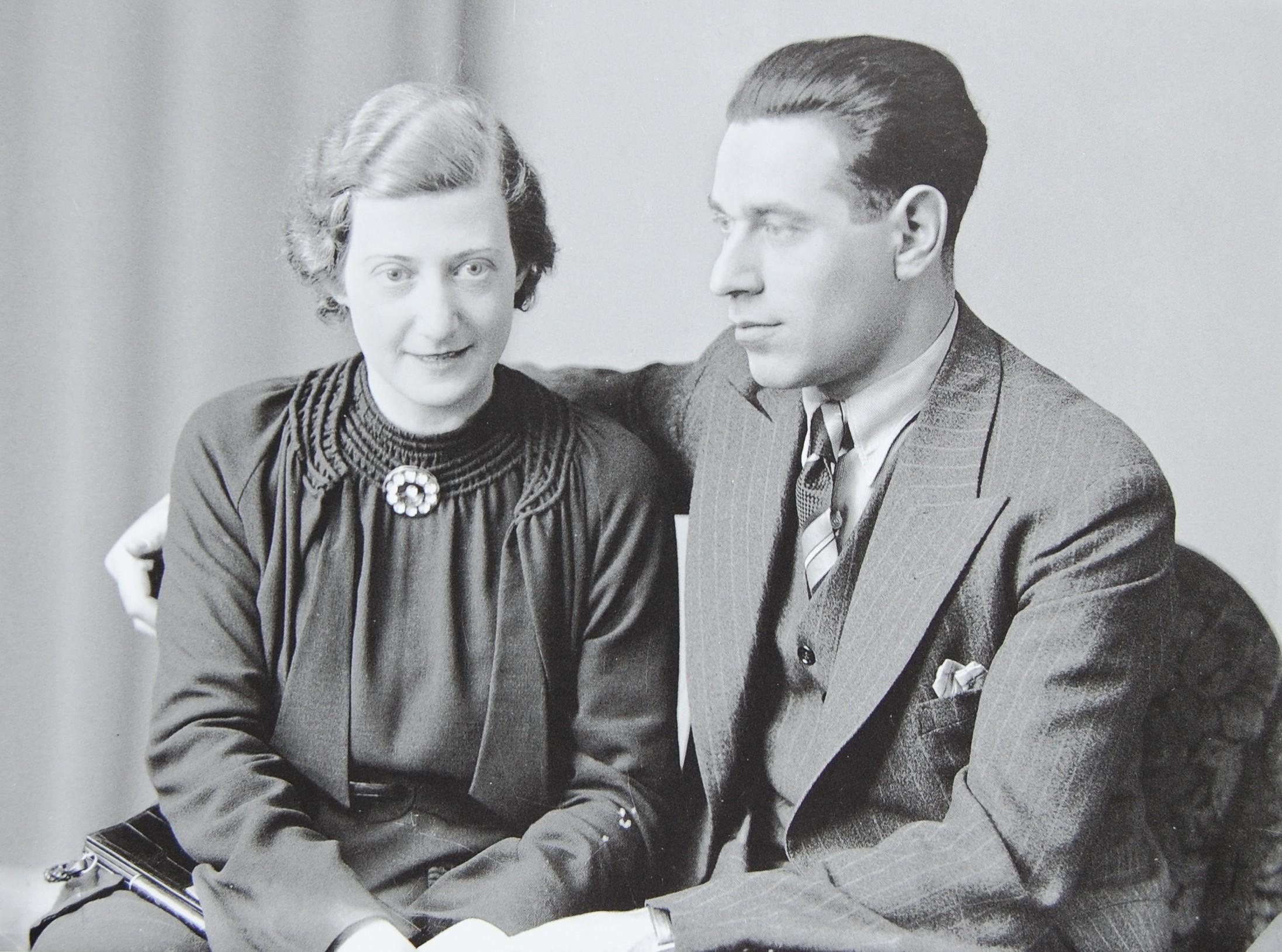 Ludwig und Bertha Hirsch, geb. Heimberg, Mitte der 1930er Jahre (Foto: Weberskirch/Kordes)