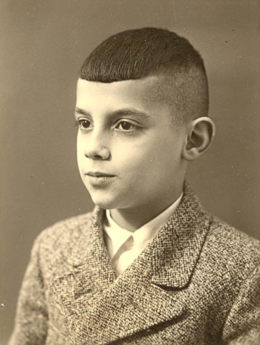 Gerd Aron, Mitte der 1930er Jahre (Foto Weberskirch/Kordes)