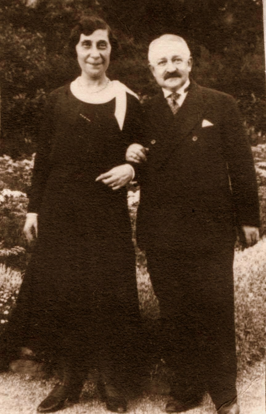 Max Katz und Elise Katz, geb. Heimann, Foto: Yad Vashem