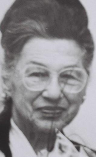 Hilda Auerbach, geb. Fromm (Foto-Ausschnitt: Medienhaus Bauer)