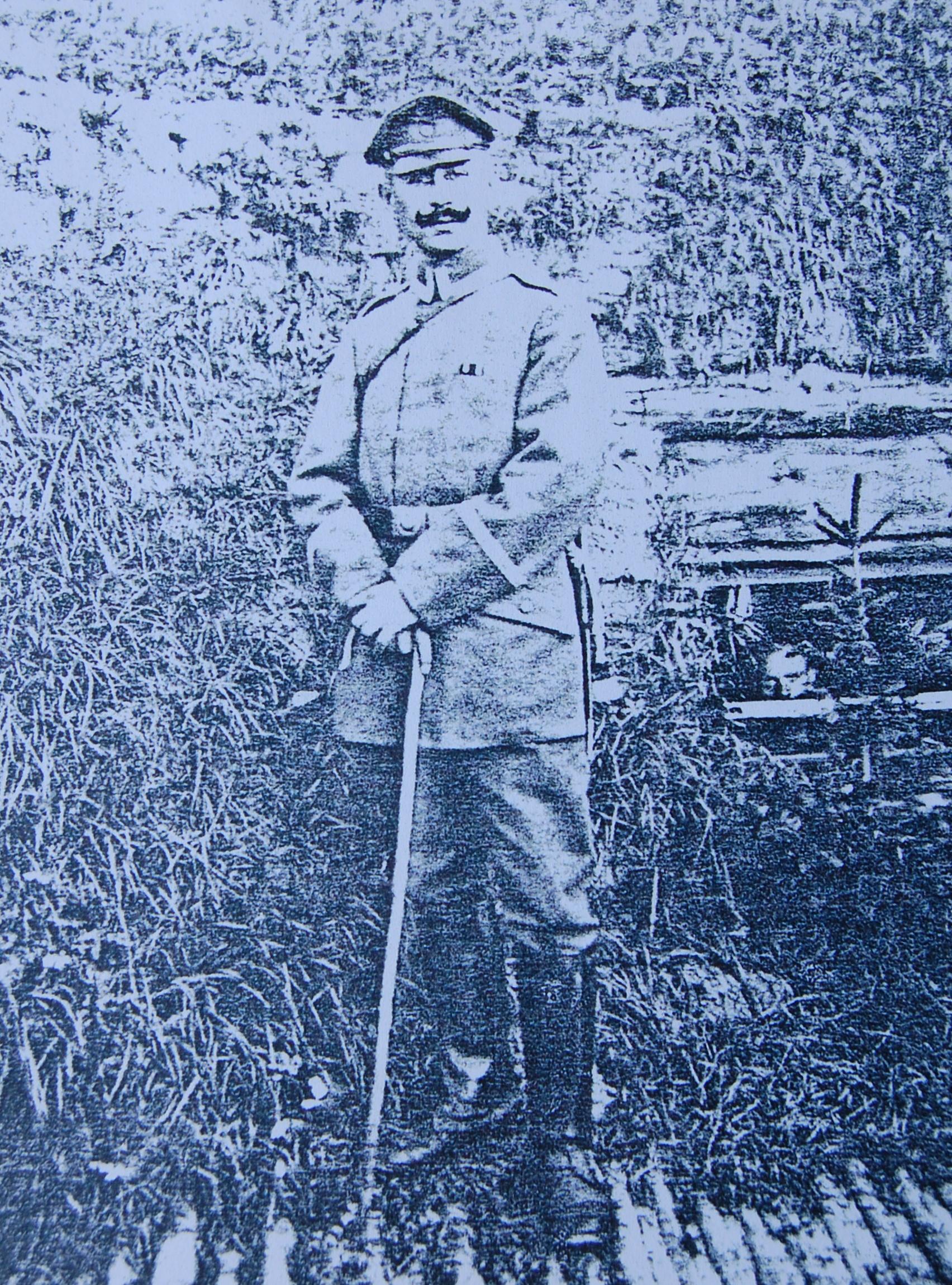 Hermann Levi als Soldat im 1. Weltkrieg (Foto: Archiv Georg Möllers)