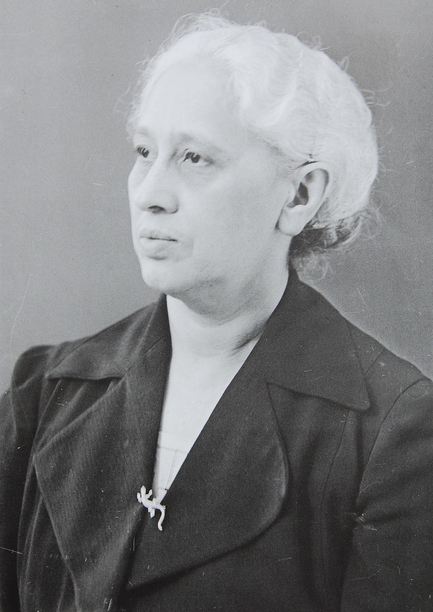 Frieda Abraham, geb. Pander Foto: Weberskirch, Kordes