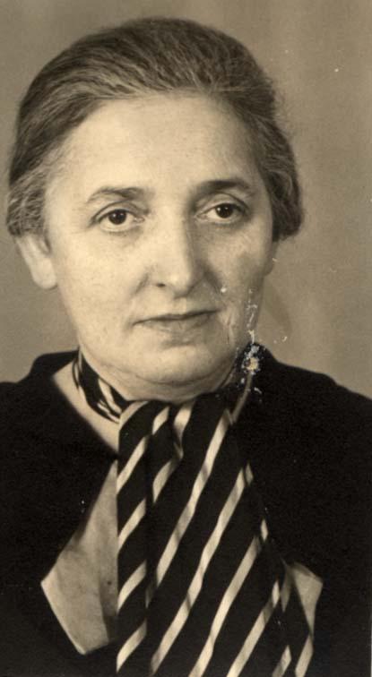Bertha Münster, geb. Tappe (Foto: Yad Vashem)