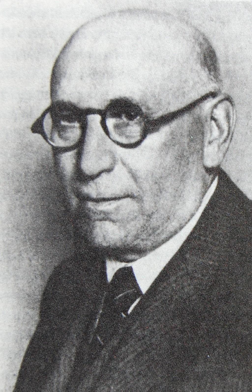 Albert Rosenthal, 1938 (Foto: Johanna Eichmann)