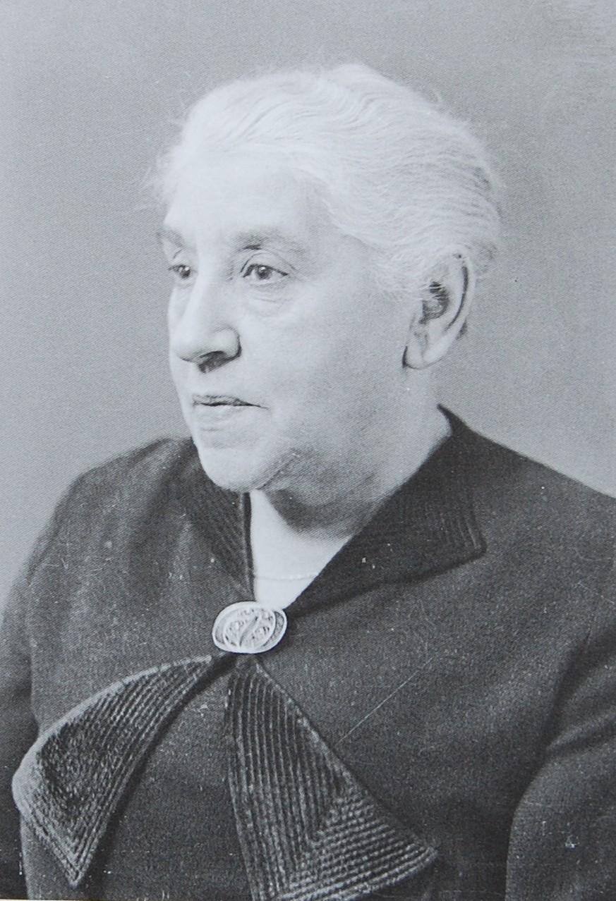 Clara Caroline Saalberg, geb. Rosenbaum, ca. 1938 (Foto Weberskirch/Kordes)