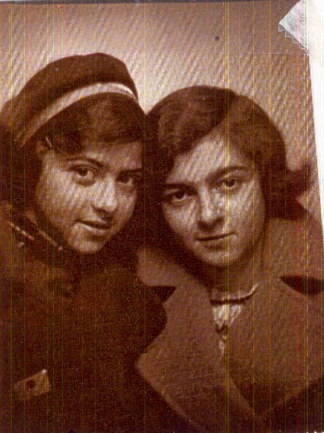 Ruth und Fanny Tepper (Foto: Yad Vashem)