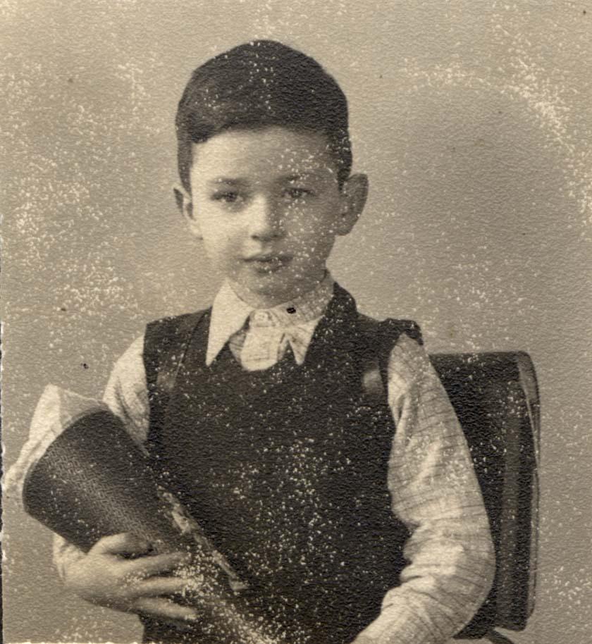 Frank Zahler, ca. 1939 (Foto: Yad Vashem)